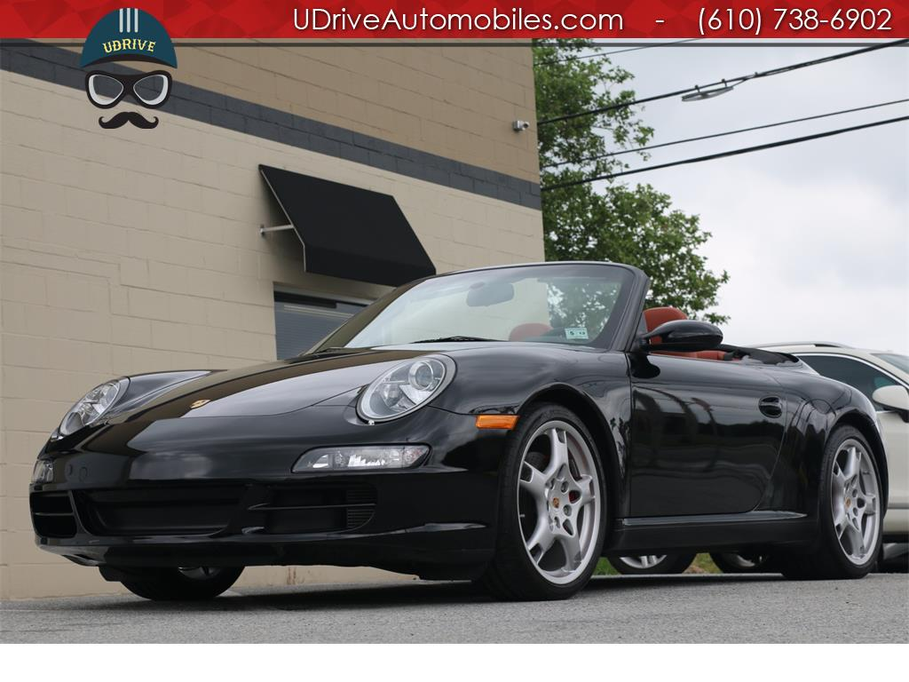2 Door Convertible >> UDrive Automobiles - Photos for 2008 Porsche 911 997 Carrera S Cabriolet 6spd 5k 1 Owner Miles
