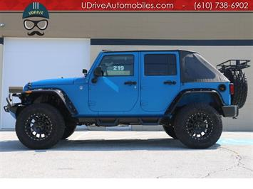 2016 Jeep Wrangler Unlimited Sport Lifted Customized Inside and Out SUV