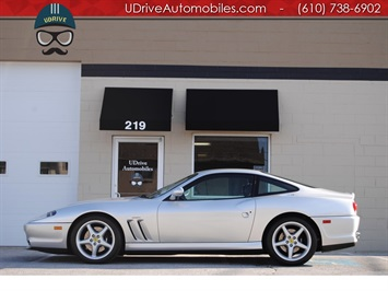 2000 Ferrari 550 Maranello Documented Service History Books Tools