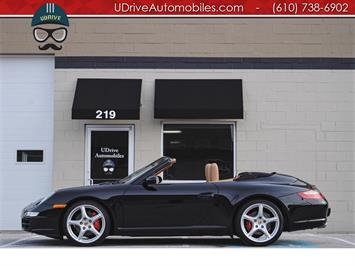 2008 Porsche 911 Carrera S Cabriolet C2S 6spd Nav Chrono New Tires