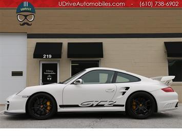2008 Porsche 911 GT2 13k Miles PCCB Buckets Yellow Stitch Serv Hist