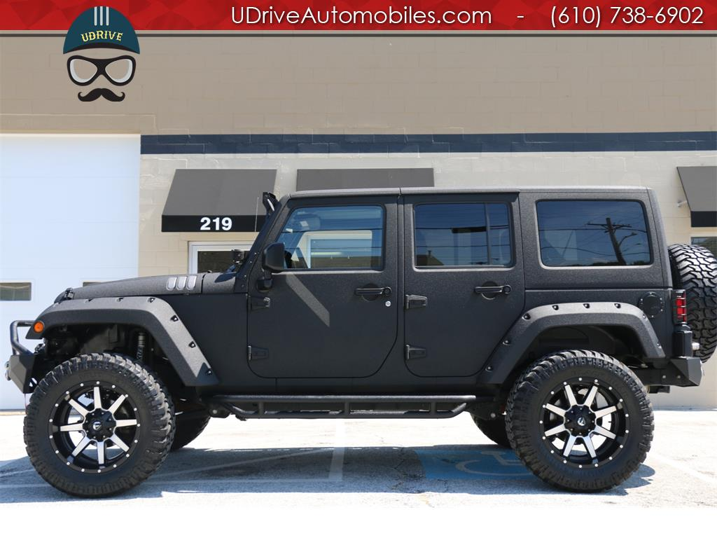 used 2015 jeep wrangler unlimited sport 4x4 auto hardtop kevlar lifted for sale in west chester. Black Bedroom Furniture Sets. Home Design Ideas
