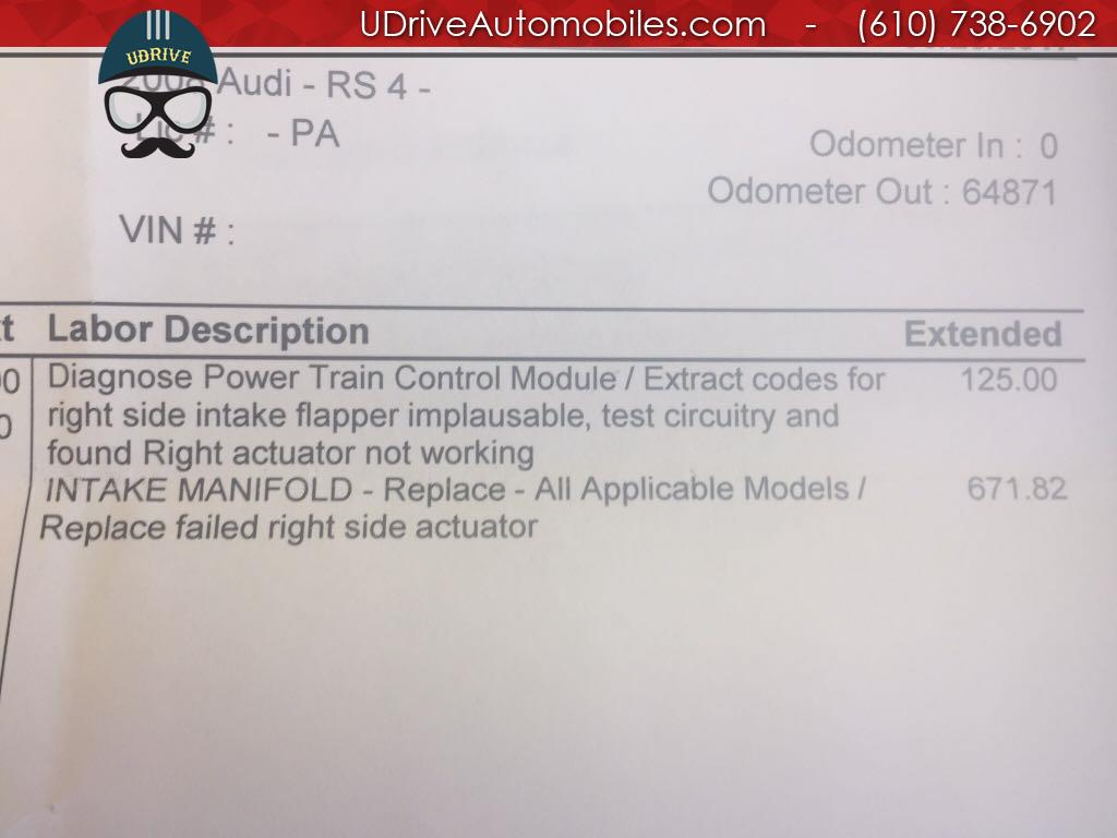 2008 Audi RS 4 quattro - Photo 27 - West Chester, PA 19382