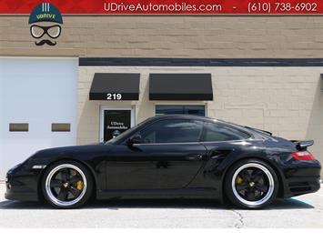 2008 Porsche 911 Turbo Coupe 6 Spd PCCB Sport Seats Chrono Carbon