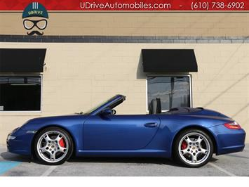 2006 Porsche 911 997 S Cabriolet 6 Speed Blue Top Sport Chrono