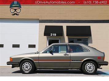 1980 Volkswagen Scirocco Scirocco 5 spd Only 6k Original Miles Documented