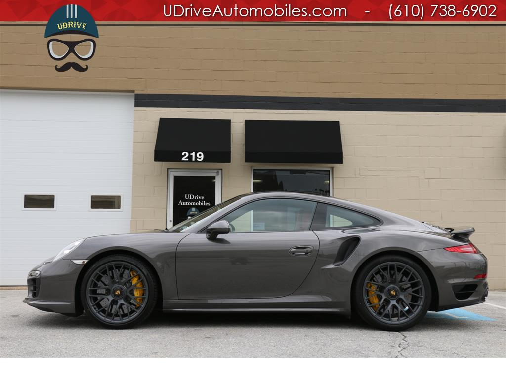 2016 Porsche 911 Turbo S Coupe Red Leather Glass Roof Warranty - Photo 1 - West & 2016 Porsche 911 Turbo S Coupe Red Leather Glass Roof Warranty memphite.com