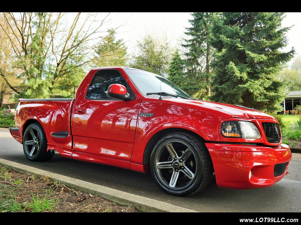 2000 ford f 150 svt lightning 488hp custom show truck for sale in milwaukie or stock 3482t. Black Bedroom Furniture Sets. Home Design Ideas