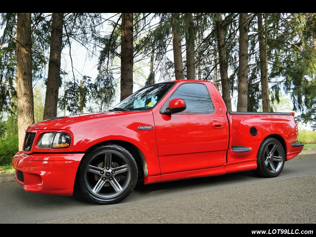 custom ford lightning red the image kid has it. Black Bedroom Furniture Sets. Home Design Ideas
