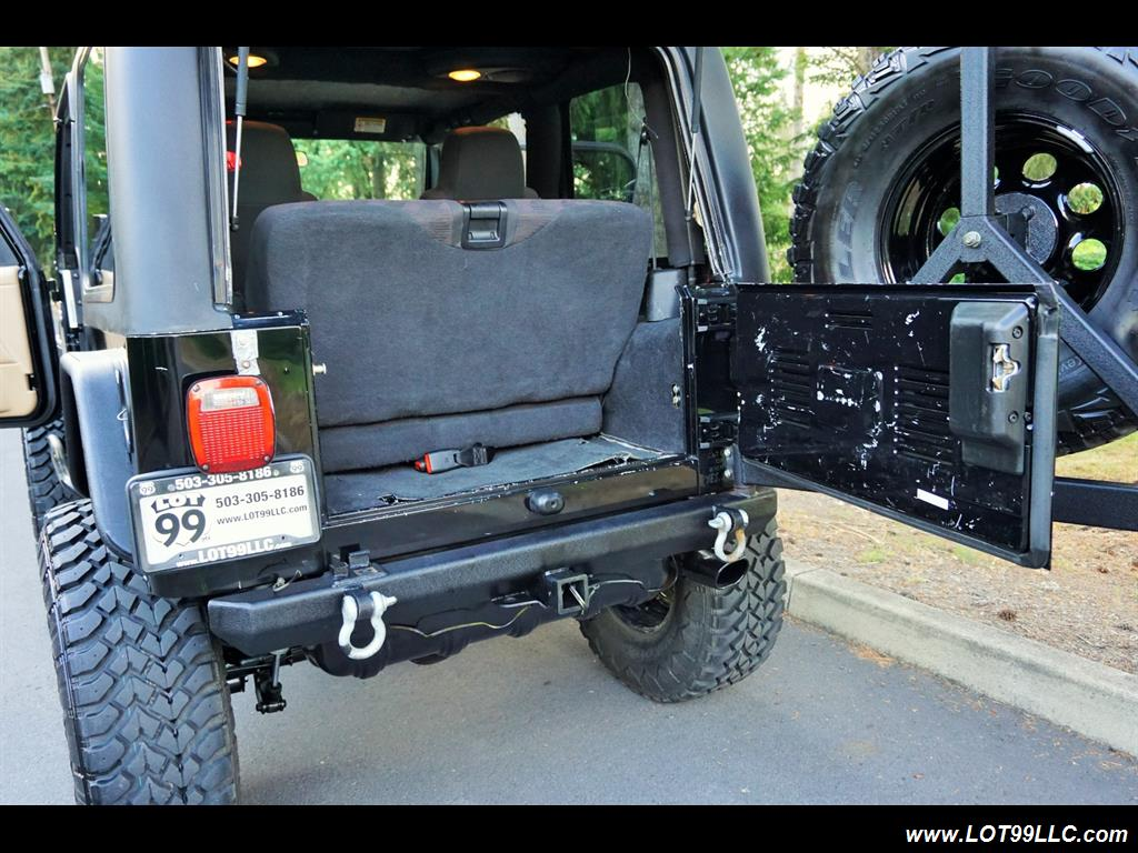 2005 Jeep Wrangler 4X4 10K Invested  Lifted Winch Hard Top - Photo 40 - Milwaukie, OR 97267