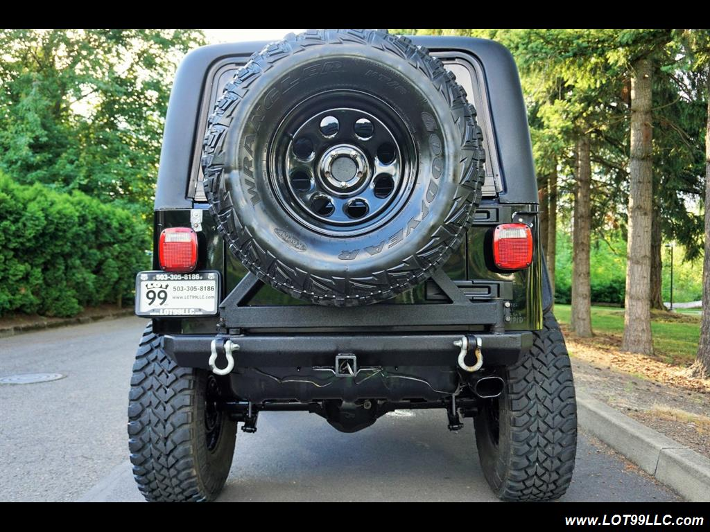 2005 Jeep Wrangler 4X4 10K Invested  Lifted Winch Hard Top - Photo 8 - Milwaukie, OR 97267