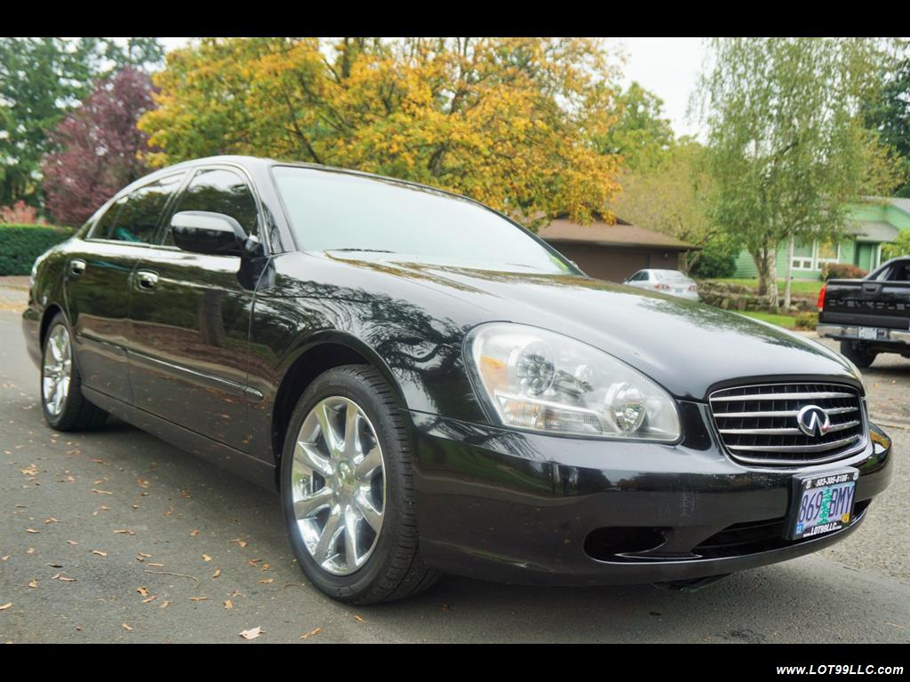 2002 Infiniti Q45 105K Low Miles Navi Leather Heated Seats. - Photo 4 - Milwaukie, OR 97267