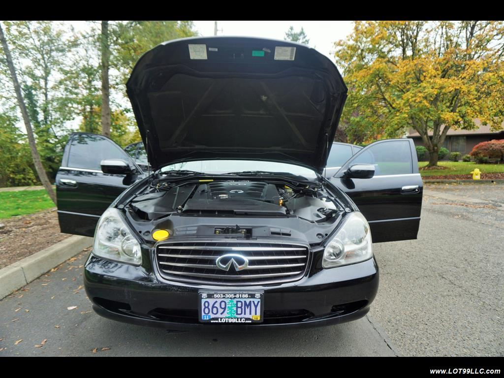 2002 Infiniti Q45 105K Low Miles Navi Leather Heated Seats. - Photo 27 - Milwaukie, OR 97267