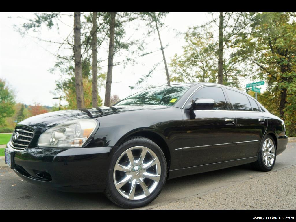 2002 Infiniti Q45 105K Low Miles Navi Leather Heated Seats. - Photo 2 - Milwaukie, OR 97267