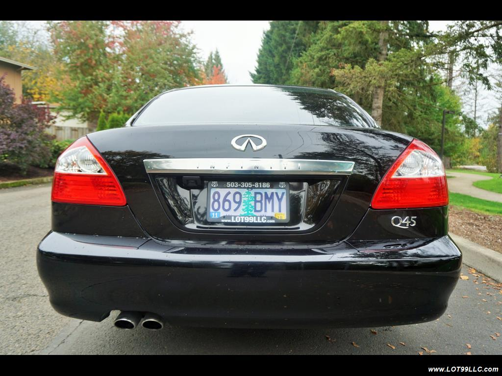2002 Infiniti Q45 105K Low Miles Navi Leather Heated Seats. - Photo 7 - Milwaukie, OR 97267