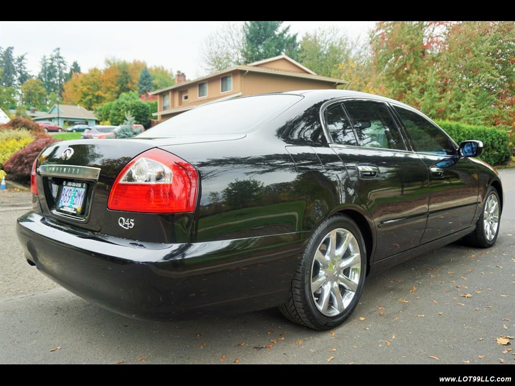 2002 Infiniti Q45 105K Low Miles Navi Leather Heated Seats. - Photo 6 - Milwaukie, OR 97267