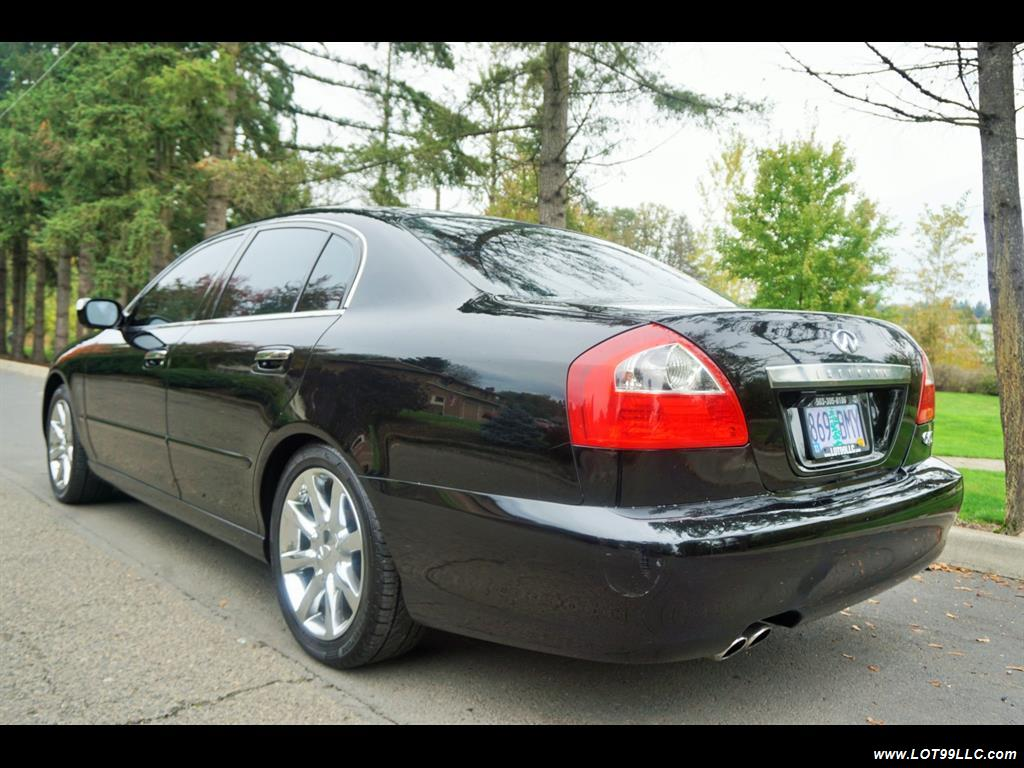 2002 Infiniti Q45 105K Low Miles Navi Leather Heated Seats. - Photo 8 - Milwaukie, OR 97267