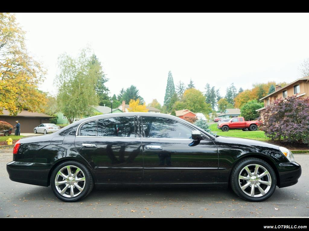 2002 Infiniti Q45 105K Low Miles Navi Leather Heated Seats. - Photo 5 - Milwaukie, OR 97267