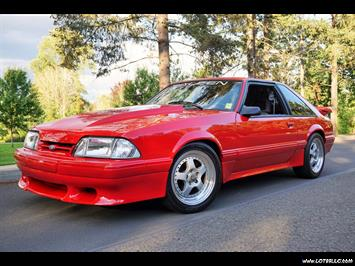 1990 Ford Mustang SALEEN 1 Of 2 Ever Made. Hatchback