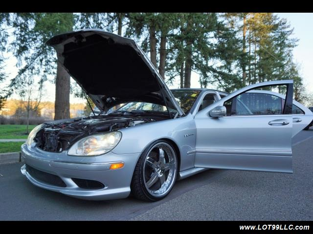 2005 Mercedes-Benz S600 Twin Turbo 117K VIP STYLE CARS. - Photo 35 - Milwaukie, OR 97267