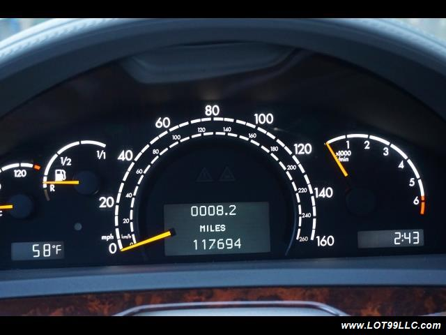 2005 Mercedes-Benz S600 Twin Turbo 117K VIP STYLE CARS. - Photo 27 - Milwaukie, OR 97267