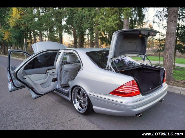2005 Mercedes-Benz S600 Twin Turbo 117K VIP STYLE CARS. - Photo 42 - Milwaukie, OR 97267