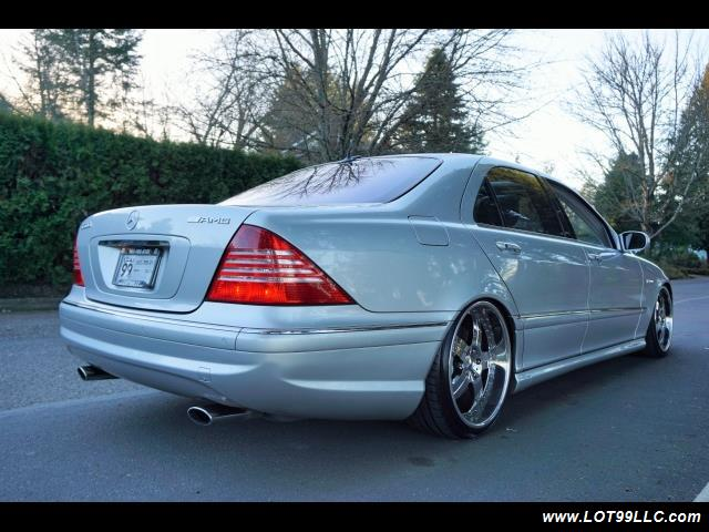 2005 Mercedes-Benz S600 Twin Turbo 117K VIP STYLE CARS. - Photo 6 - Milwaukie, OR 97267