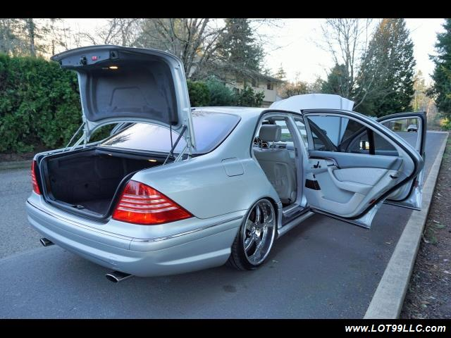 2005 Mercedes-Benz S600 Twin Turbo 117K VIP STYLE CARS. - Photo 40 - Milwaukie, OR 97267