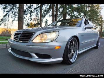 2005 Mercedes-Benz S600 Twin Turbo 117K VIP STYLE CARS. Sedan