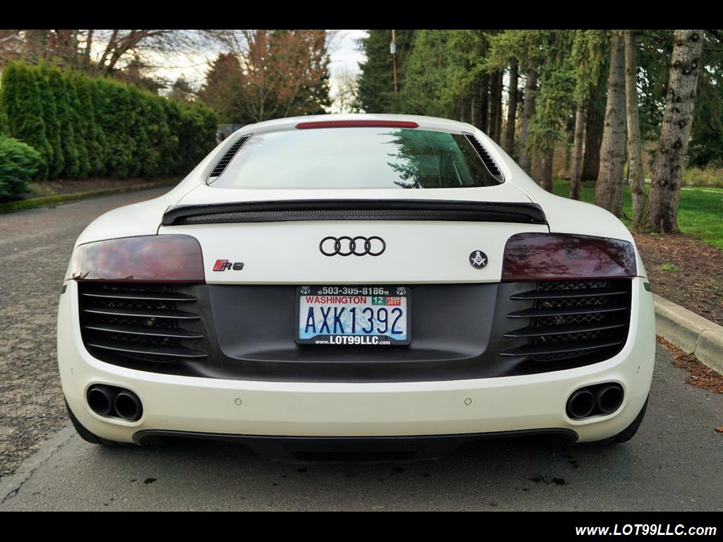 "2008 Audi R8 quattro 48K Low Miles 20 "" Black Wheels. - Photo 7 - Milwaukie, OR 97267"