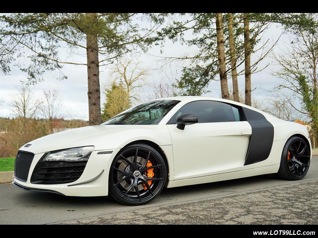 "2008 audi r8 quattro 48k low miles 20"" black wheels. for  in"