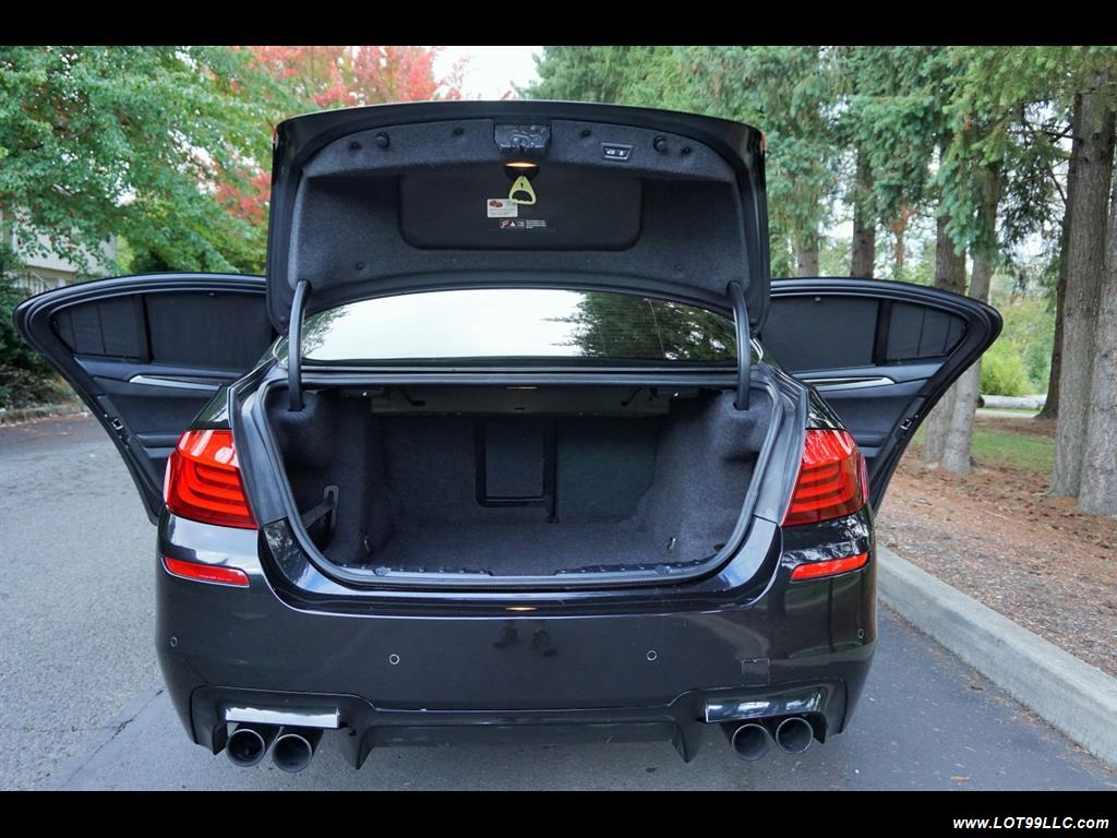 2013 BMW M5 560 HP Twin Turbo Black On Black Loaded. - Photo 35 - Milwaukie, OR 97267