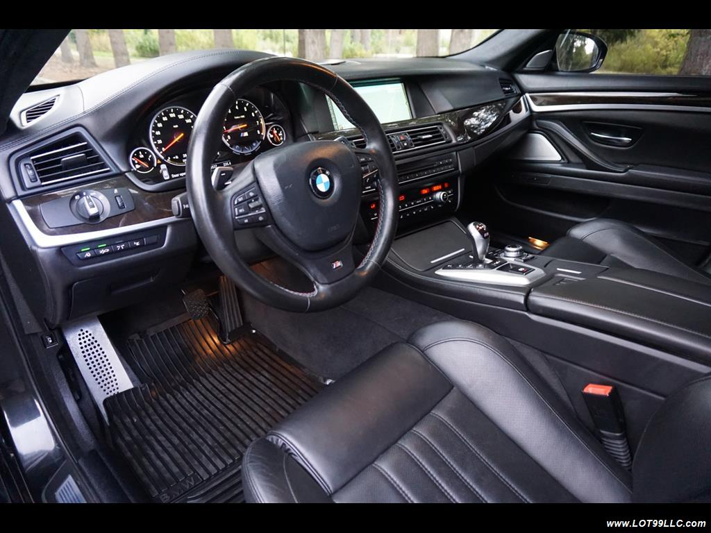 2013 BMW M5 560 HP Twin Turbo Black On Black Loaded. - Photo 11 - Milwaukie, OR 97267
