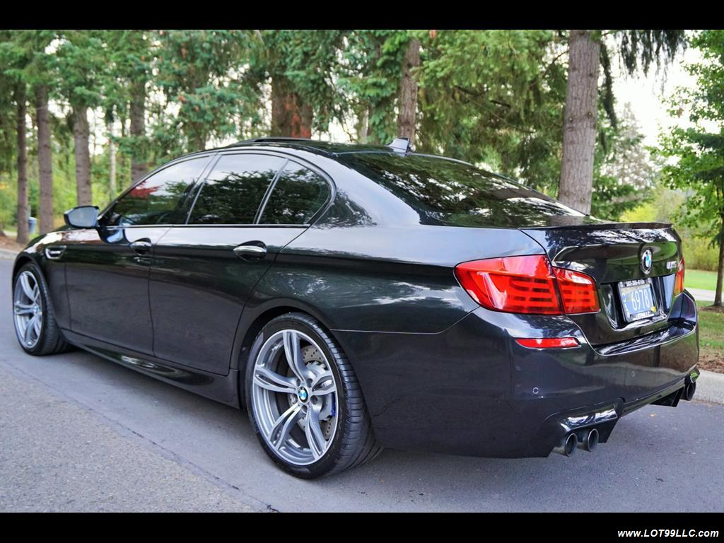 2013 BMW M5 560 HP Twin Turbo Black On Black Loaded. - Photo 8 - Milwaukie, OR 97267