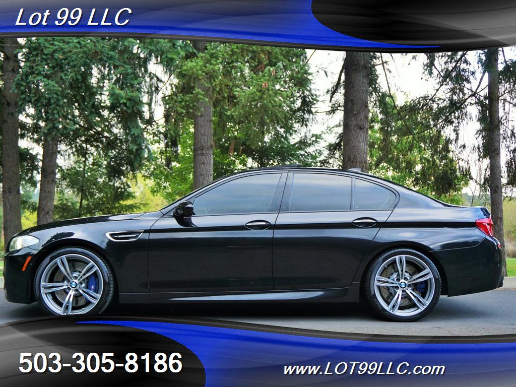 2013 BMW M5 560 HP Twin Turbo Black On Black Loaded. - Photo 1 - Milwaukie, OR 97267