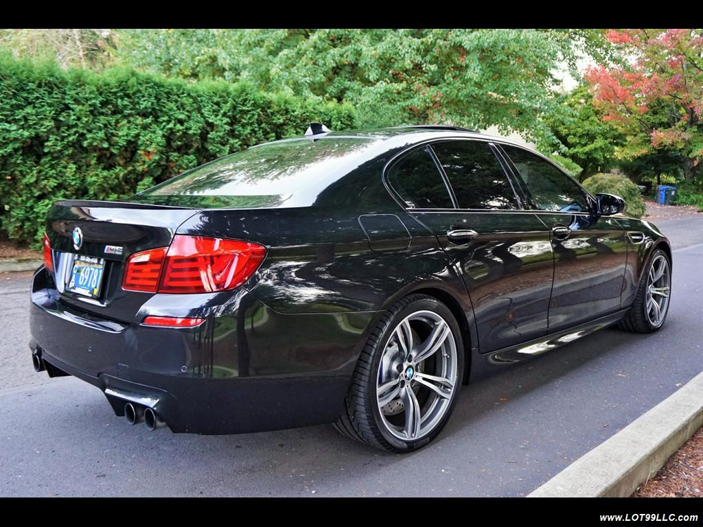 2013 BMW M5 560 HP Twin Turbo Black On Black Loaded. - Photo 6 - Milwaukie, OR 97267