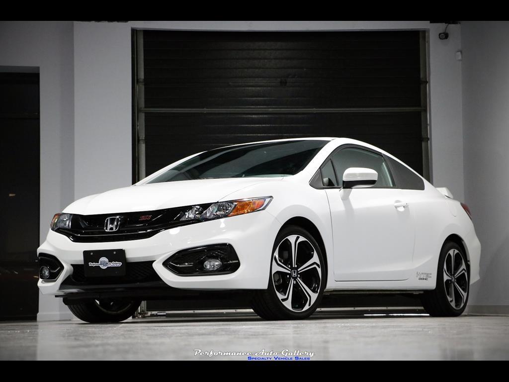 2014-2015 Honda Civic Coupe Si Front Splitter - Ventus ... |Honda Civic Si 2015 Sedan Black