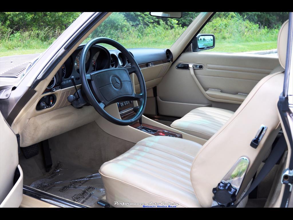 1989 Mercedes-Benz 560SL - Photo 10 - Gaithersburg, MD 20879