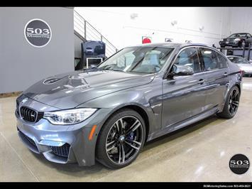 2016 BMW M3 Loaded Spec in Stunning Mineral Gray w/ 3k Miles Sedan