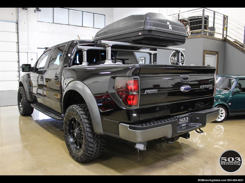 2012 ford f 150 svt raptor black black w extended warranty. Black Bedroom Furniture Sets. Home Design Ideas