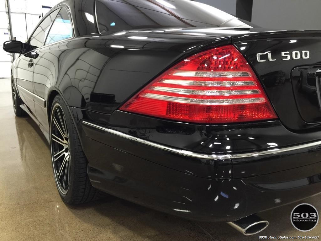 2005 mercedes benz cl500 for Mercedes benz cl 240