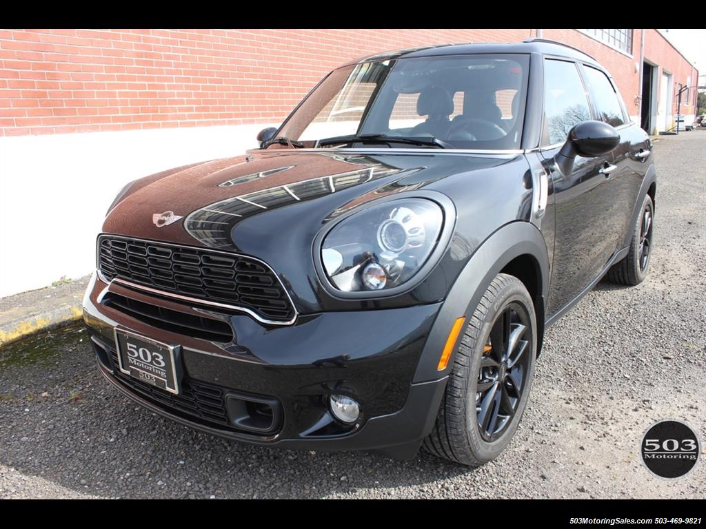 2014 mini countryman cooper s all4. Black Bedroom Furniture Sets. Home Design Ideas
