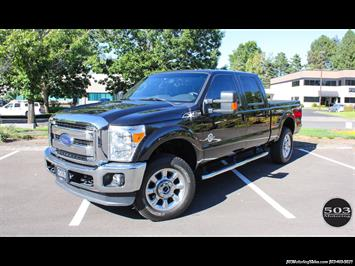 2015 Ford F-350 Super Duty Lariat, FX4, Black/Black One Owner! Truck