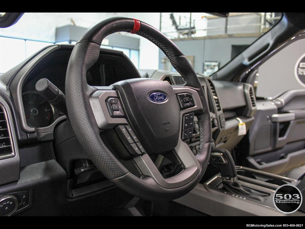 2017 Ford F-150 Raptor; Shadow Black/Black 801A w/ Only 850 Miles! - Photo 28 - Beaverton, OR 97005