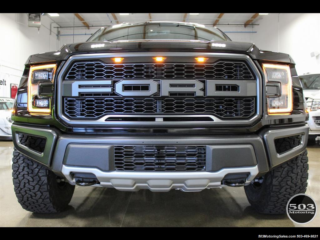 2017 Ford F-150 Raptor; Shadow Black/Black 801A w/ Only 850 Miles! - Photo 7 - Beaverton, OR 97005