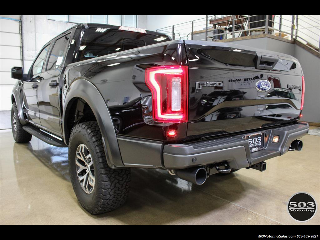 2017 Ford F-150 Raptor; Shadow Black/Black 801A w/ Only 850 Miles! - Photo 3 - Beaverton, OR 97005