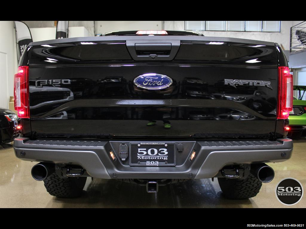 2017 Ford F-150 Raptor; Shadow Black/Black 801A w/ Only 850 Miles! - Photo 4 - Beaverton, OR 97005
