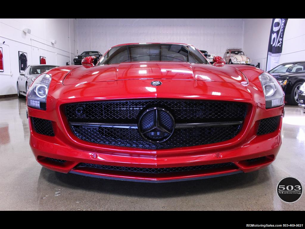 2011 mercedes benz sls amg le mans red incredibly well for Mercedes benz sls amg red