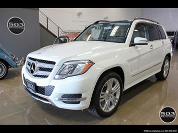 2014 Mercedes-Benz GLK 350 4MATIC; One Owner, White/Black! SUV