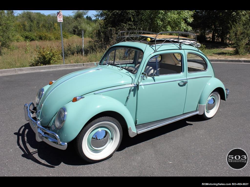 1963 volkswagen beetle classic ragtop. Black Bedroom Furniture Sets. Home Design Ideas